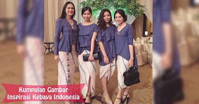 Inspirasi Kebaya Indonesia