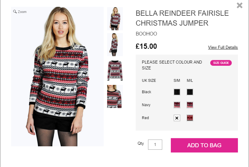 2570b757c80 BLOGMAS DAY 11  Christmas Jumpers for Women Under £20 - It s Me Mel