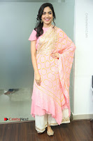 Actress Ritu Varma Pos in Beautiful Pink Anarkali Dress at at Keshava Movie Interview .COM 0007.JPG