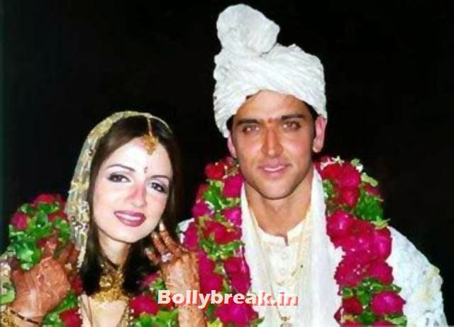 Hrithik Roshan and Sussanne at their wedding, Hrithik and Sussanne marriage in pictures