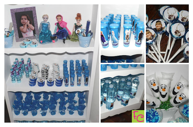 Personalizados - Tema Frozen