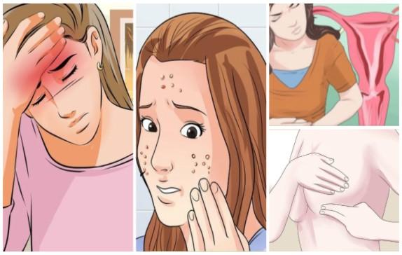 15 sinais que você tem um desequilíbrio hormonal e o que você pode fazer sobre isso