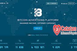 Bitmedia.io, Situs PPC Penghasil Bitcoin Gak kalah Dengan Adsense Mantap!