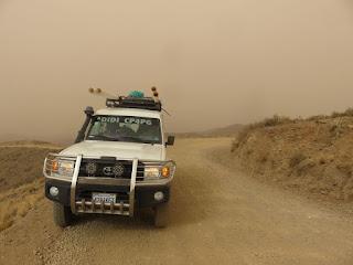 eine unheimliche Stimmung herrschte in den Bergen im Süden von Bolivien
