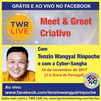 Visite Tenzin Wangyal Rinpoche @ Facebook