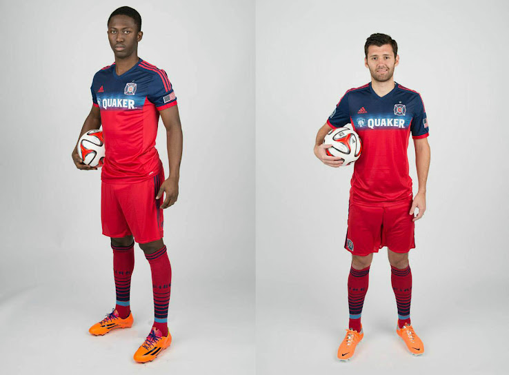 new styles 922ec 8e332 Chicago Fire 2014 Home Jersey Released - Footy Headlines
