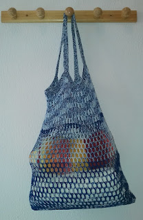 Free crochet pattern for mesh bag