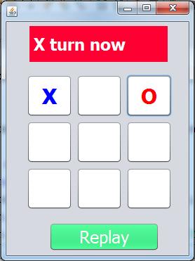 Java Tic Tac Toe Game 2
