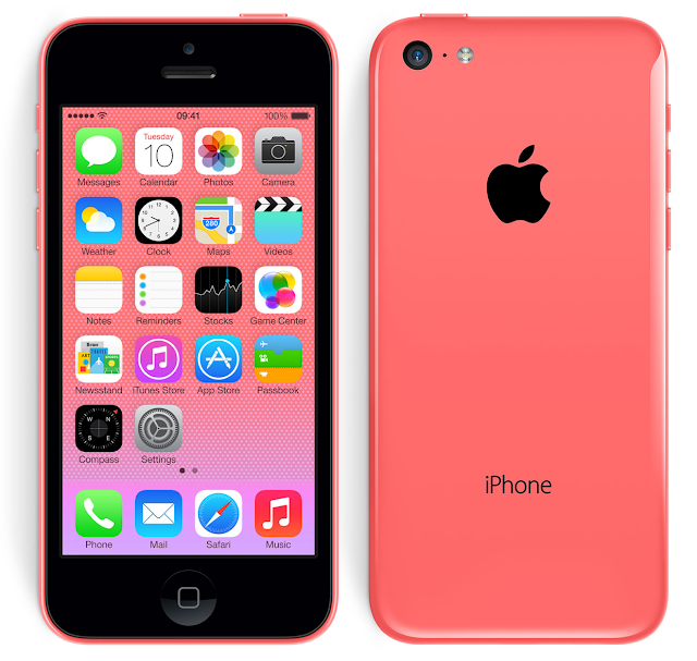 iPhone 5C Pink Colored