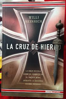 Portada del libro La cruz de hierro, de Willi Heinrich