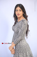 Actress Chandini Chowdary Pos in Short Dress at Howrah Bridge Movie Press Meet  0068.JPG