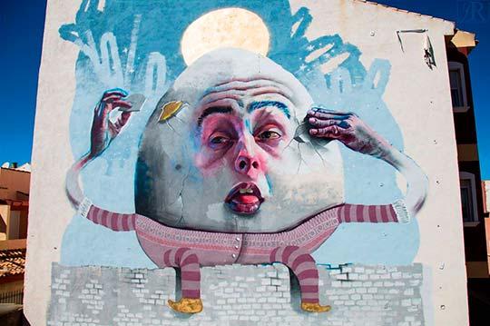 Arte urbano, ilustración y pintura por Dan Ferrer