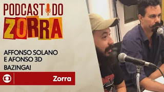 Ouça Podcast do Zorra #15: Affonso Solano e Afonso Tresdê:
