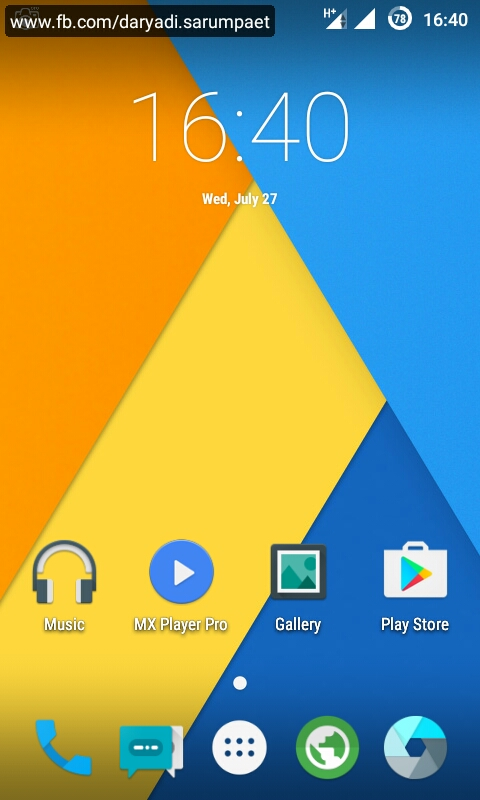 CyanogenMod 12 1 (CM12 1) - Samsung Galaxy V SM-G313HZ