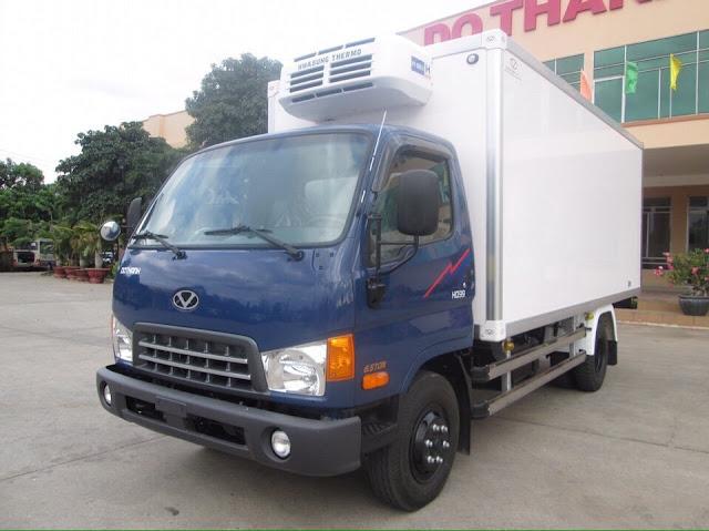 Hyundai HD120s đô thành thùng đông lạnh
