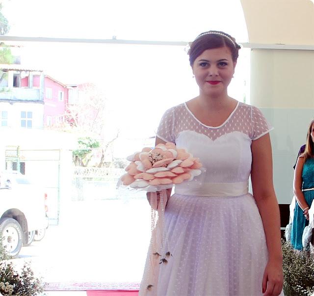 casamento de dia retrô