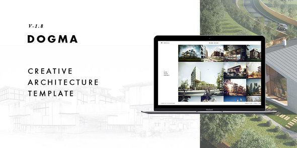 Dogma Architecture Responsive Website Templates