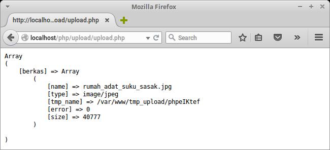 Upload file di PHP