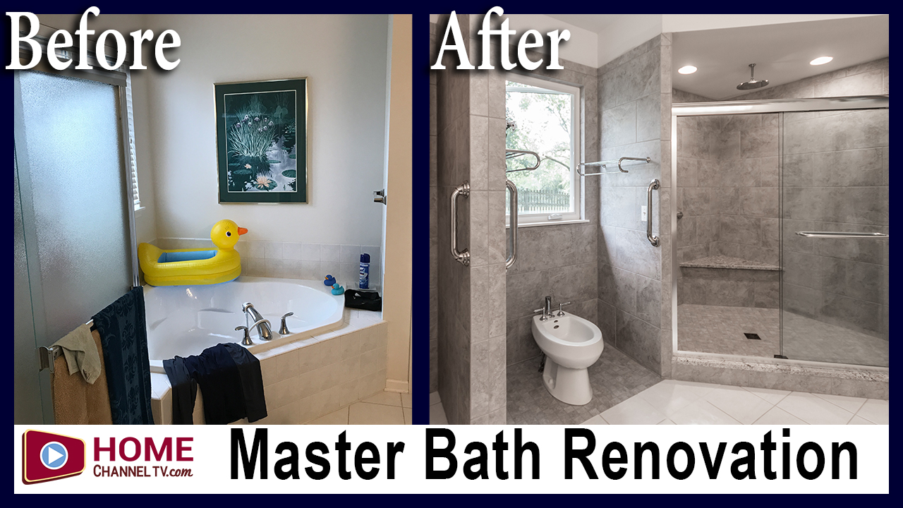 Ugly Duckling Master Bath Before After Remodel