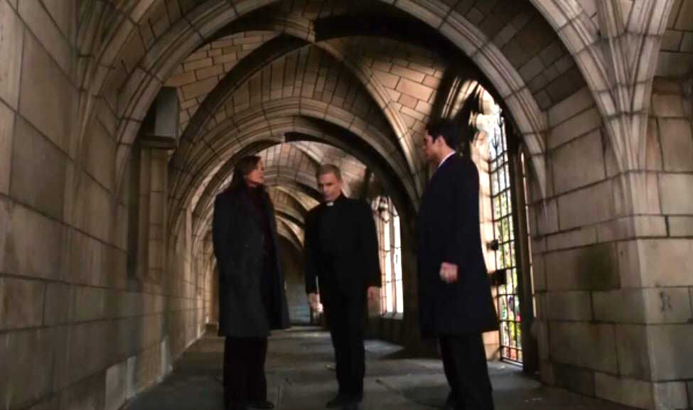 Perfect At St. Horatiou0027s Church, Benson And Amaro Speak With Monsignor Menendez Who  Says The Church Is Shrinking And They Needed Fr. Shea Elsewhere. On Law And Order Svu Presumed Guilty