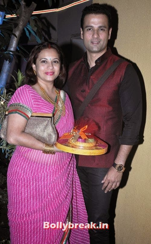 Rohit Roy, Mansi, Sachiin Joshi and Urvashi Sharma's Diwali Party