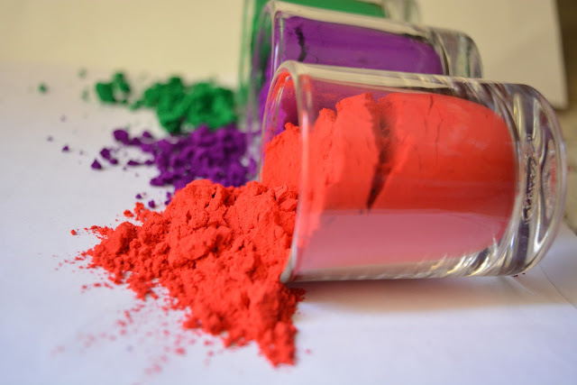 safe holi with natural colours,prepare natural holi colour at home