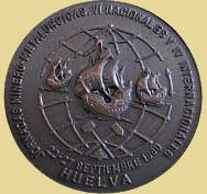 Medalla de las VI Jornadas Minero Metalúrgicas en Huelva, 1980