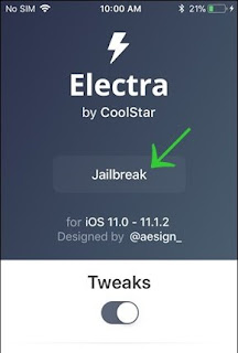 How to Install Cydia  Electra1131 Jailbreak for iOS 11.2 – iOS 11.3.1 Online for iPhone, iPad, iPod