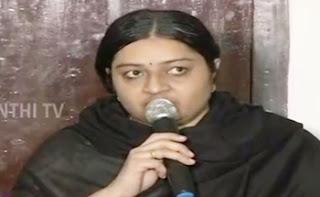 Will contest RK Nagar Bypoll for Sure – Deepa, MGR Amma Deepa Peravai   Thanthi Tv