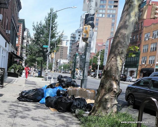basura calles de nueva york