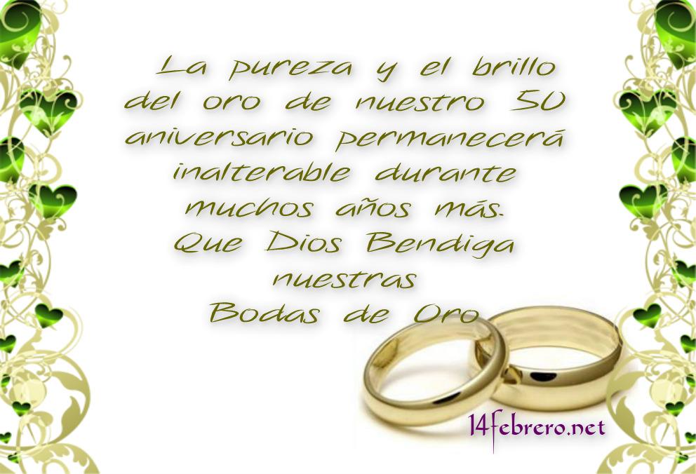 Frases De Aniversario De Matrimonio: Dedicatorias Para Bodas De Oro O Plata Frases Amor
