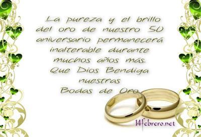 boda de oro
