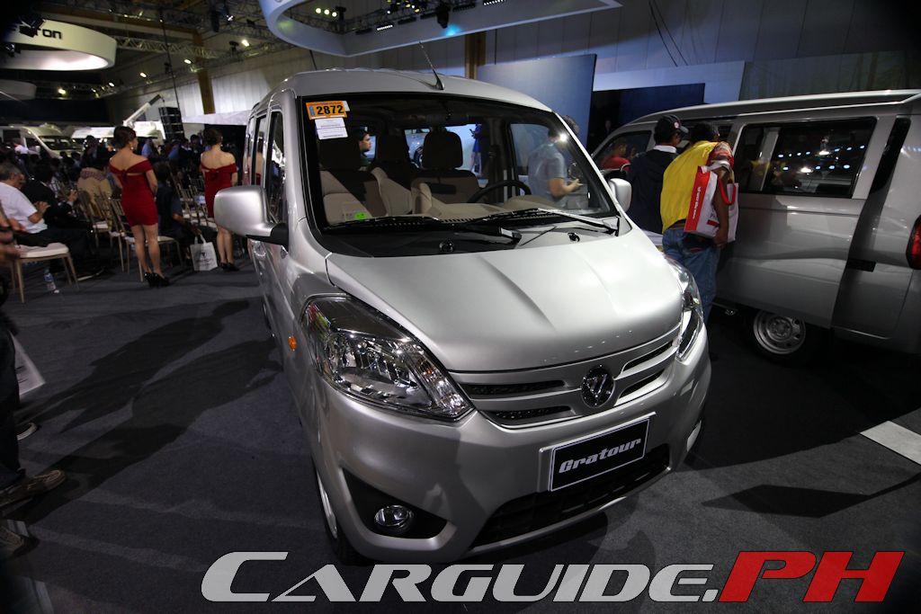 Foton Unveils Gratour Toano Vans Philippine Car News Car Reviews