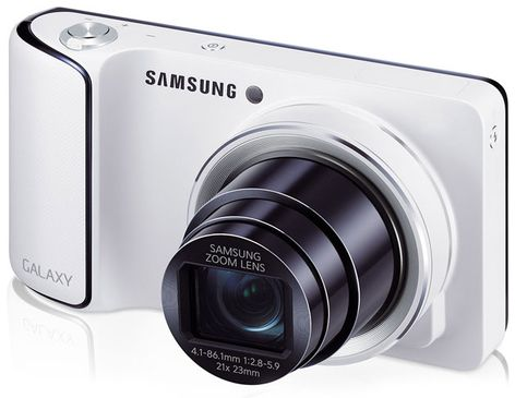 Samsung GALAXY Camera Android 4.1.2 XXBLL7 in GB gestartet
