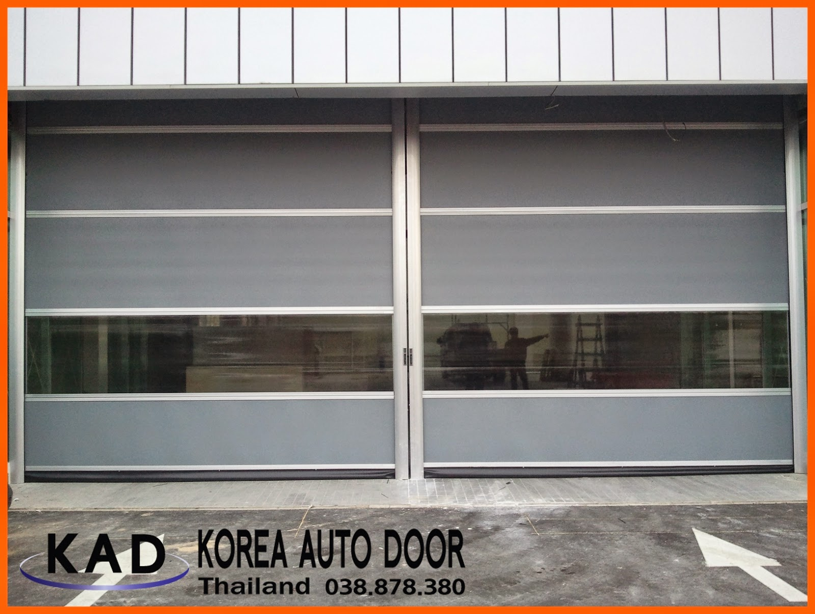 it's a photo of high speed door thailand
