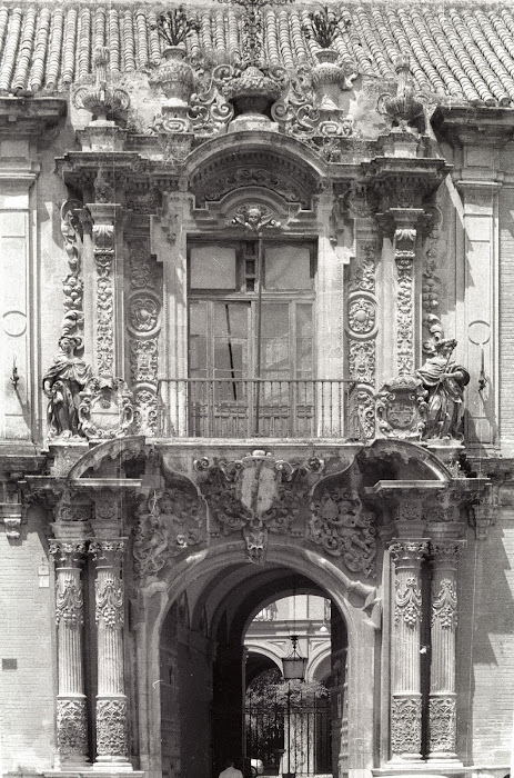 Séville, Palais de l'Archevêque, © L. Gigout, 1991