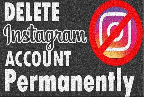 طريقة حذف حسابك على انستقرام Instagram بشكل نهائي
