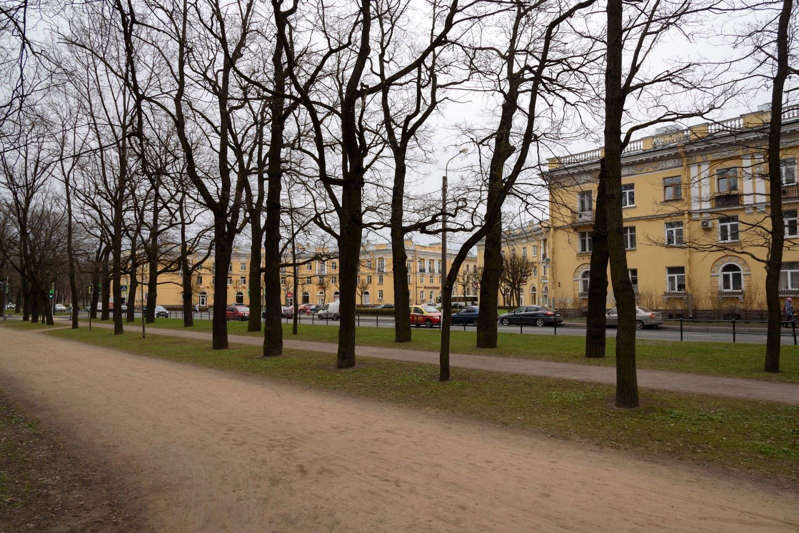 Октябрьский бульвар. Пушкин
