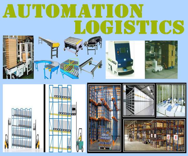 agv rack logistic sort
