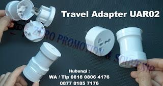 Universal Travel Adaptor Bulat UAR02, traveladaptor, traveladapter, dengan harga termurah di Tangerang