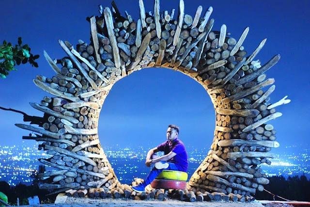 Wisata tahun baru jogja ke Gunung Mungker - wisata sunset yang menawan