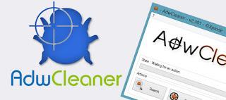 من جديد أقوى برنامج لحدف الفيروسات من المتصفح  AdwCleaner