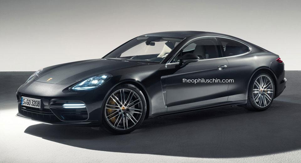 Porsche Panamera Coupe Looks The Part Probably Won T Happen