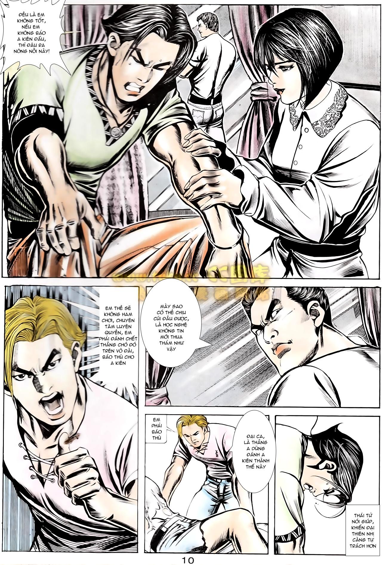 Người Trong Giang Hồ chapter 166: bùng nổ trang 29