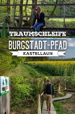 Premiumwanderweg - Traumschleife Burgstadt-Pfad – Kastellaun  Kyrill-Sturmwurferlebnispfad  Wandern-Hunsrück  22