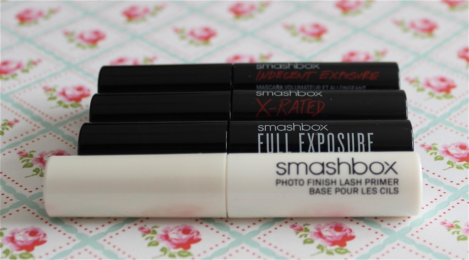 Smashbox Try It Kit Lash Primer + Mascara swatch