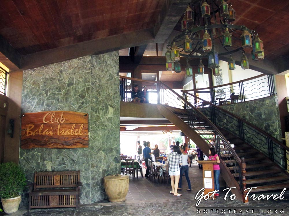 Got To Travel Terraza Cafe At Club Balai Isabel