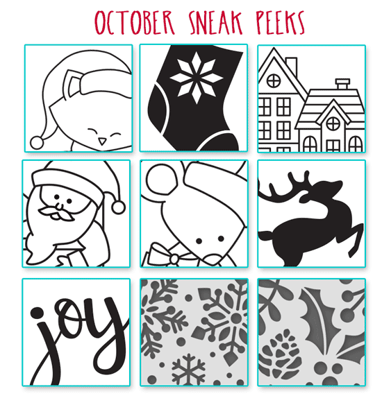 2017 Holiday Release Sneak Peeks! | Newton's Nook Designs #newtonsnook