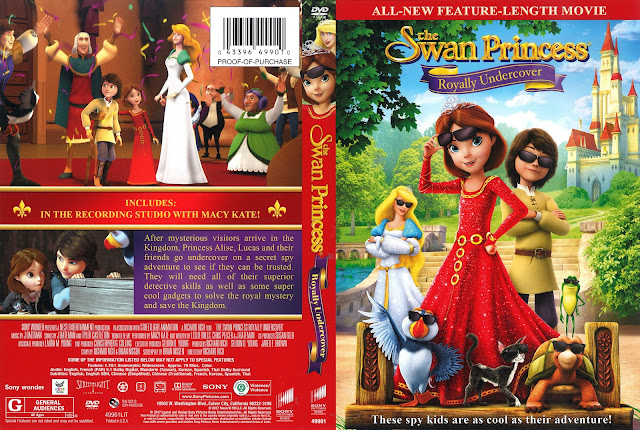 The Swan Princess: Royally Undercover DVD Cover