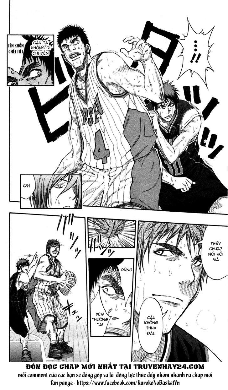 Kuroko No Basket chap 149 trang 17